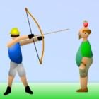 Игра Человек с яблоком на голове