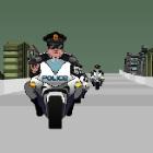 Игра Перестерлка с копами на мотоциклах
