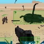 Игра На защите военного вертолета