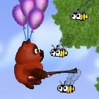 Игра Винни-Пух на шариках и пчелы