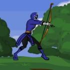 Игра Могучие рейнджеры: Стрелялка из лука